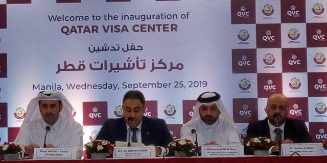 Qatar, Al-Malki, Secretary Mamao, inauguration, Philippines