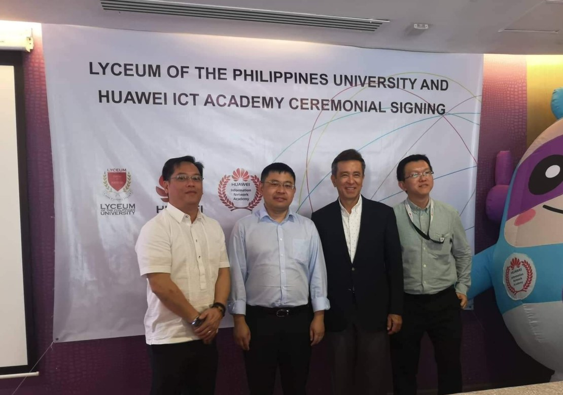 Huawei, Lyceum, Philippines, China, ICT Academy, IT, telecoms, partnership, MOA