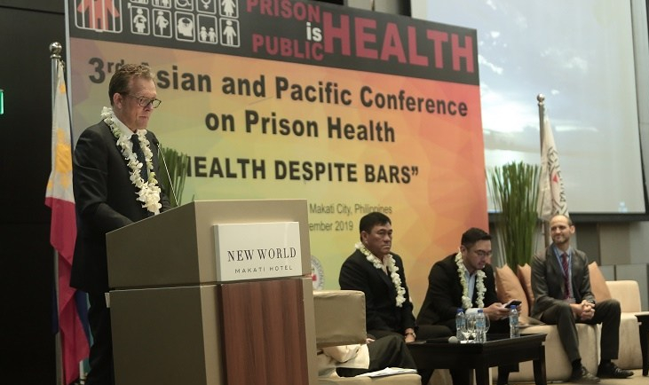 ICRC Philippines, prison health, inmates, healthcare system, conference, share