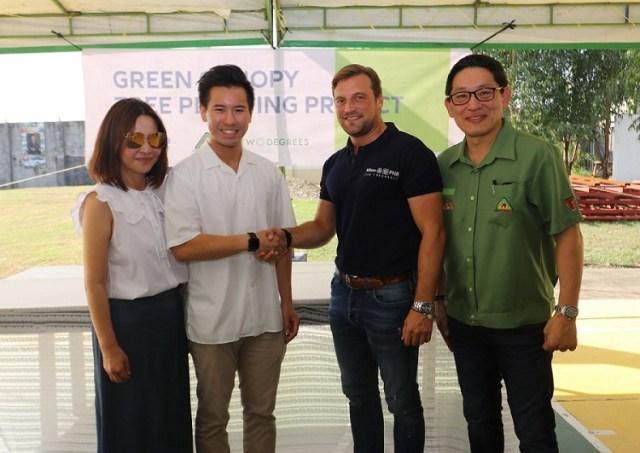 Allianz, LT Group, trees, 12 million, project, Lucio Tan III