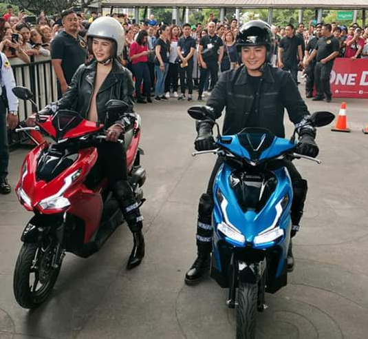 Honda Philippines, Coco Martin, Yassi Pressman, All-New Airblade 150, urban riders, motorcycles, scooter