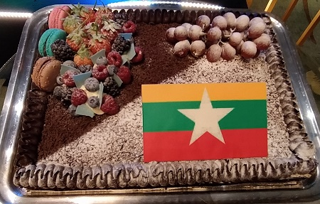 Myanmar, Independence Day, celebrates, Philippines