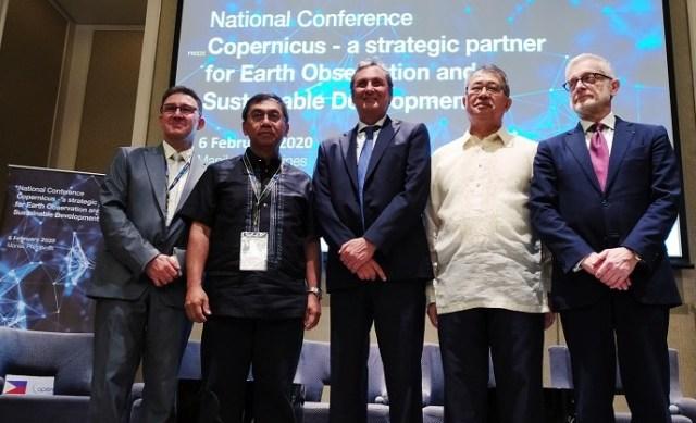 EU, Copernicus Program, explores, Philippines, Earth Observation, capacity support, data