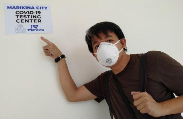 Marikina City, Covid-19 Testing Center, coronavirus, pandemic, DOH, Friday