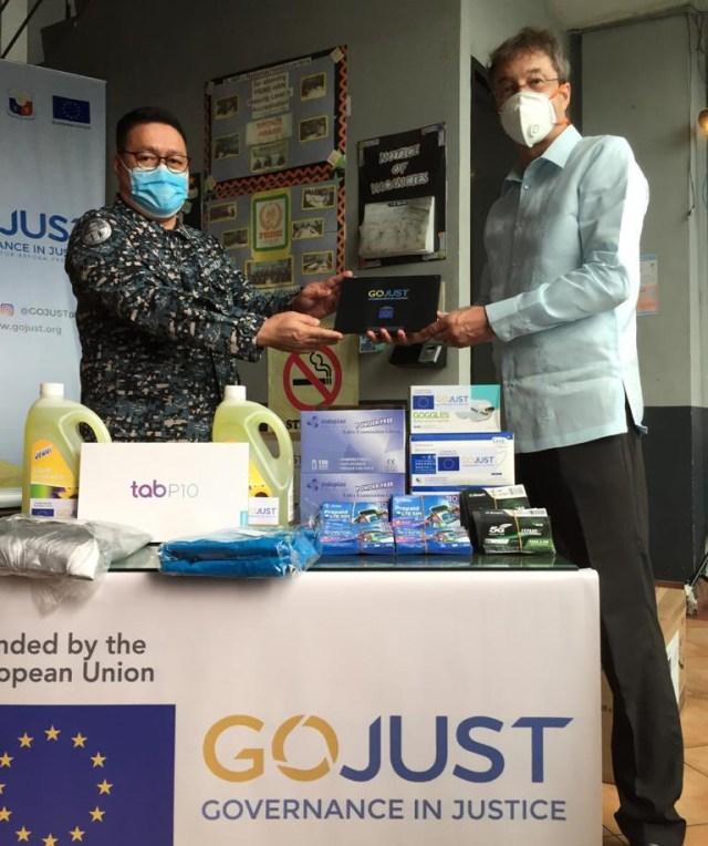 European Union, Covid-19, BJMP, Php10 million, pandemic