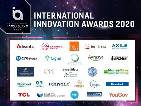 29 Innovations Awarded the International Innovation Awards 2020