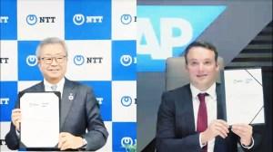 NTT and SAP deepen partnership.