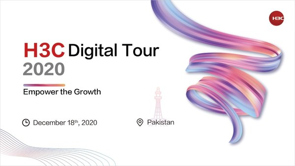 Pakistan marks the fifth station of H3C Digital Tour 2020, following Turkey, the Philippines, Malaysia and Thailand. The global virtual event is aimed at bringing H3C's latest products, solutions and favorable policies to overseas markets and facilitate the exchanges on digital transformation.