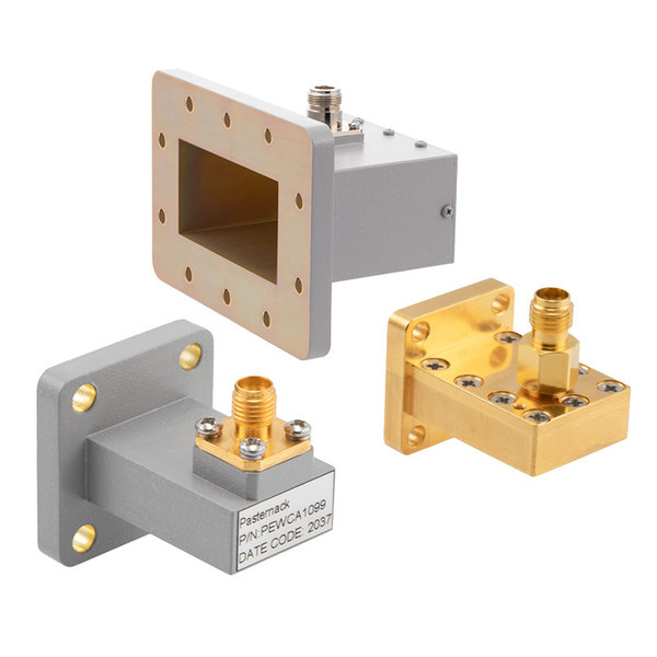 PE-Waveguide-to-Coax-Adapters-with-European-Style-Flanges