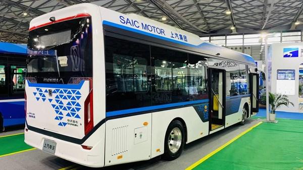 Sunwin 9-series 10.5-meter fuel cell city bus