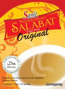 Salabat Tea for healthy lifestyle.