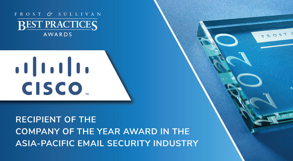 """""""Cisco has one of the most comprehensive email security solutions in the market. It covers all of the major functions, such as blocking and detecting threats and defending against phishing, spam, and data contained within emails,"""" said Lim Qi Yong, Associate, ICT Practice at Frost & Sullivan."""