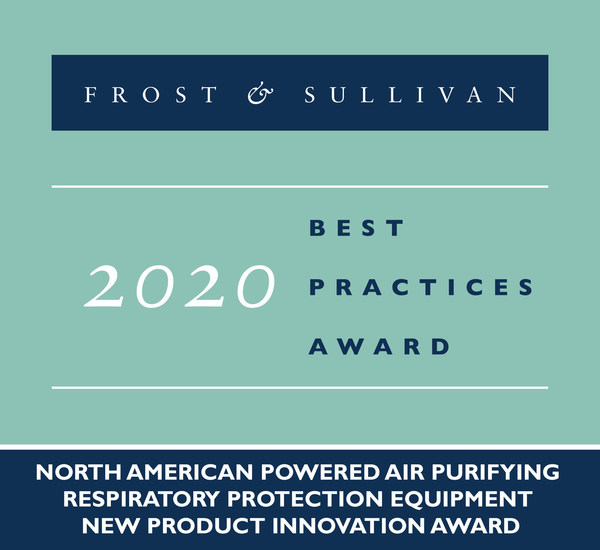2020 North American Powered Air Purifying Respiratory Protection Equipment New Product Innovation Award