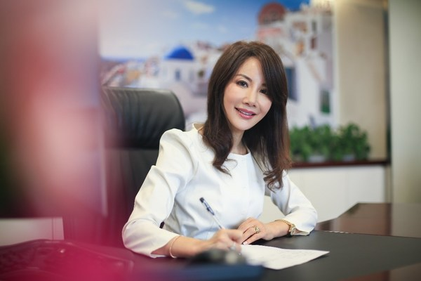Jane Sun, CEO of Trip.com Group, a powerful force in the travel industry as one of only a few women leaders in the sector