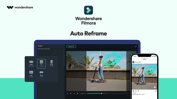 Wondershare Filmora Brings Auto Reframe Feature for Mac Users