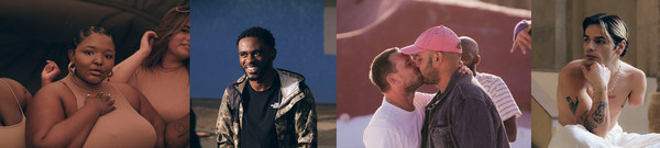 Stills captured of the hero campaign film from Zalandos 'Here To Stay' Campaign, featuring Mista Strange, Luc Bruyere, Yann Horowitz and Yolisa Mqoco