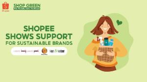 Shopee backs sustainable brands.