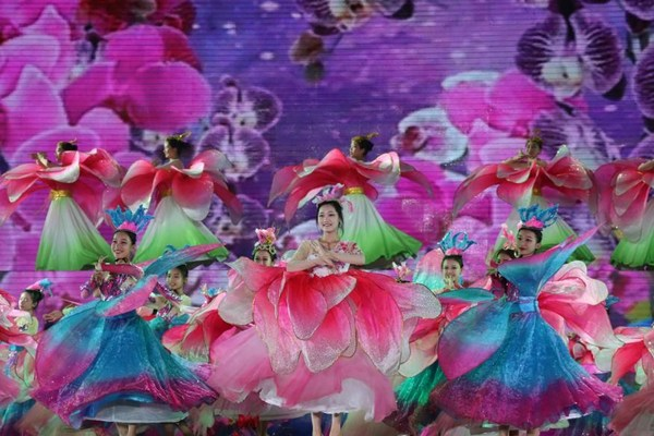 """The closing ceremony gala of 2021 Hainan Li and Miao traditional festival """"Sanyuesan (3rd of the 3rd Lunar Month)"""""""