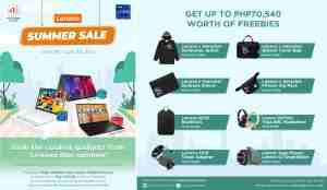 Lenovo offers summer sale for laptops.