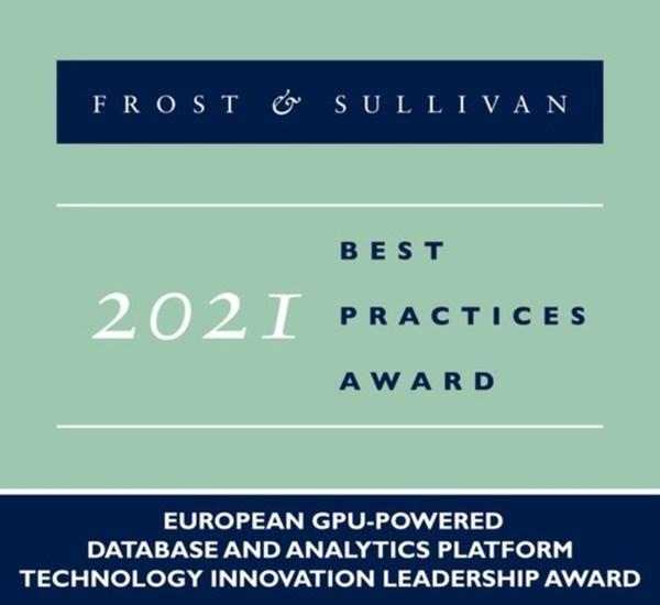2021 European GPU-powered Database and Analytics Platform Technology Innovation Leadership Award