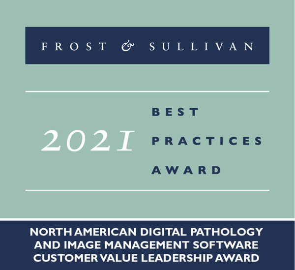 2021 North American Digital Pathology and Image Management Software Customer Value Leadership Award
