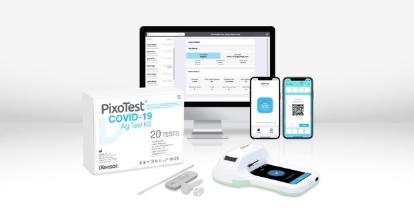 PixoHealth Pass Admin Solution enables sustainable and safer reopening together with PixoTest POCT COVID-19 Antigen Test.