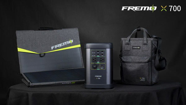 Fremo X700 - The World's Smallest 1000W Power station