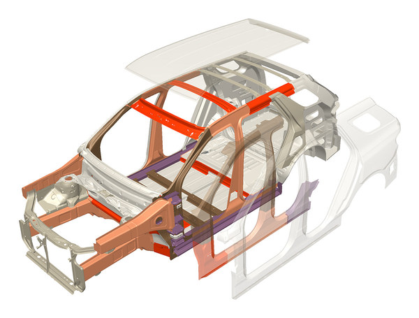 Winner, Lightweighting Enabling Technology – ArcelorMittal, FORTIFORM® 980GI Next Generation Steel combines high ductility for complex shapes with higher levels of strength for improved safety and offers potential weight savings of up to 20 percent.