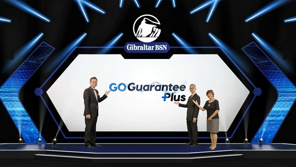 Gibraltar BSN's senior management at the virtual launch of GoGuarantee Plus From left to right: •Daniel Toh – Chief Sales Officer, Gibraltar BSN Life Berhad •Lee Kok Wah – Chief Executive Officer, Gibraltar BSN Life Berhad •Susan Ong – Chief Marketing Officer, Gibraltar BSN Life Berhad