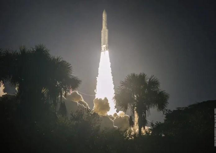 Ariane 5 Flight VA253 Liftoff