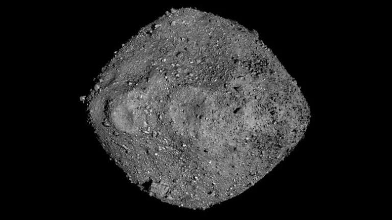 Asteroid Bennu Mosaic OSIRIS-REx