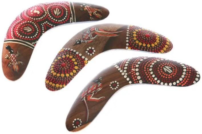 Avustralya Aborijin Boomerangları