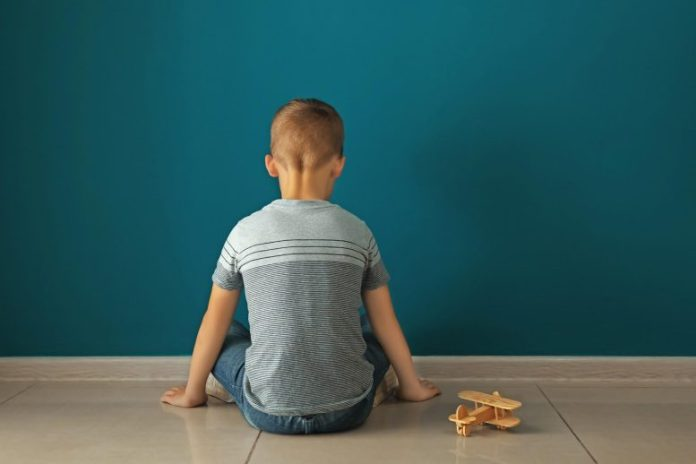 Autistic Boy Autism Concept