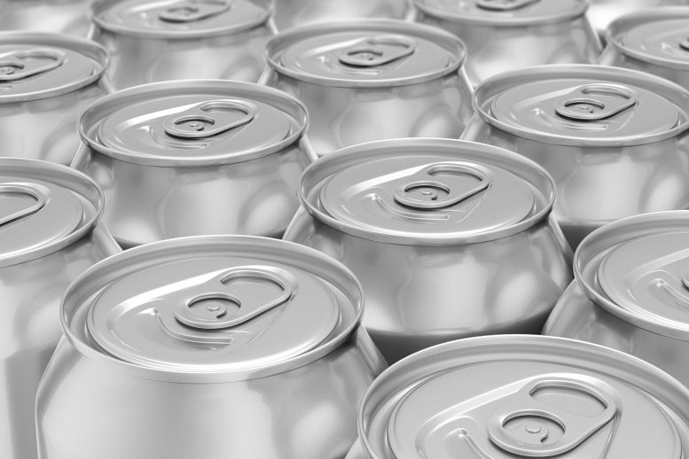 Diet Soda Drink Cans