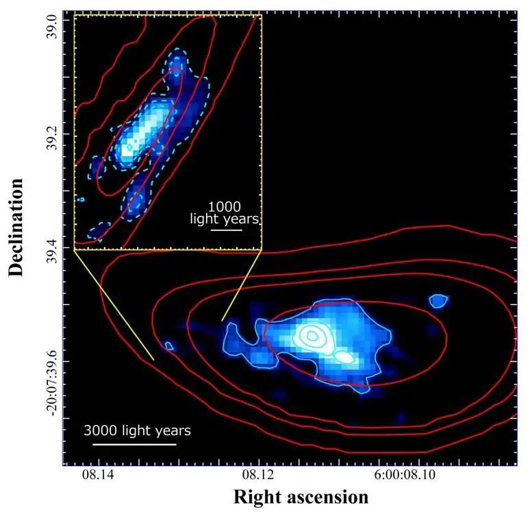 Distant Galaxy RXCJ0600-z6
