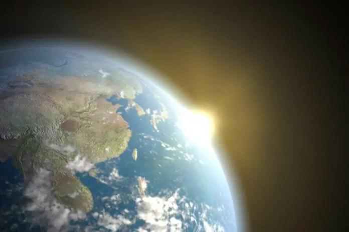 Earth Greenhouse Effect Illustration