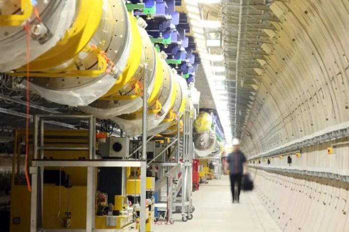 European XFEL Accelerator Tunnel