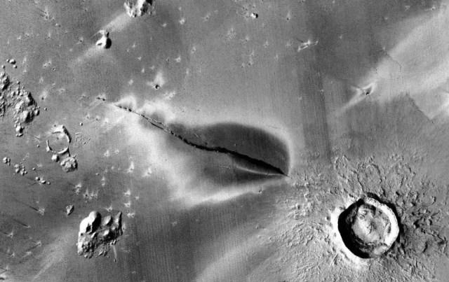 Explosive Volcanic Deposit Cerberus Fossae System