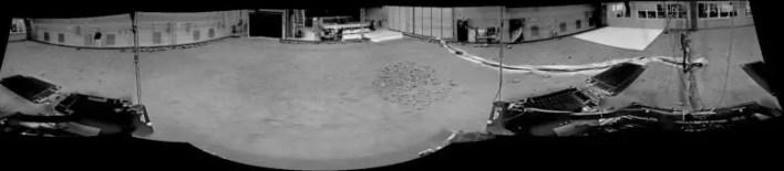 GTM, Mars Terrain Simulator'da NavCam Panorama Aldı