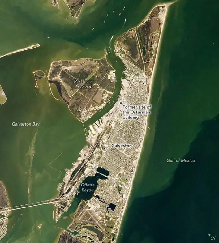 Galveston Adası Şubat 2020 Açıklamalı