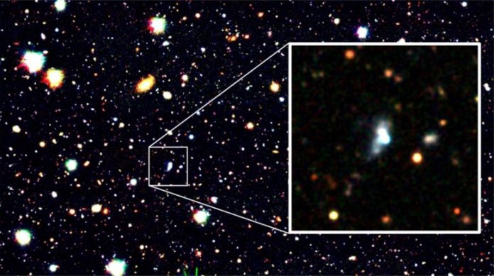Galaxy HSC J1631+4426