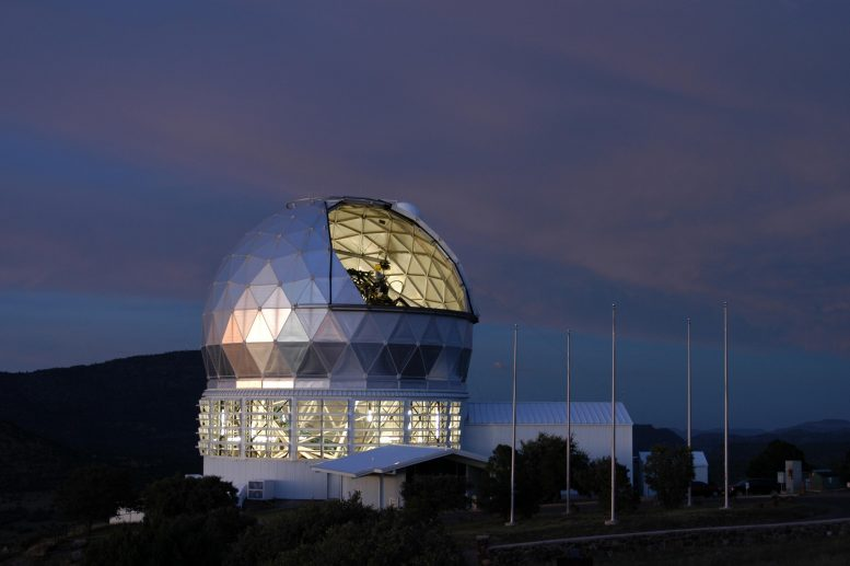 Hobby Eberly Telescope Twilight