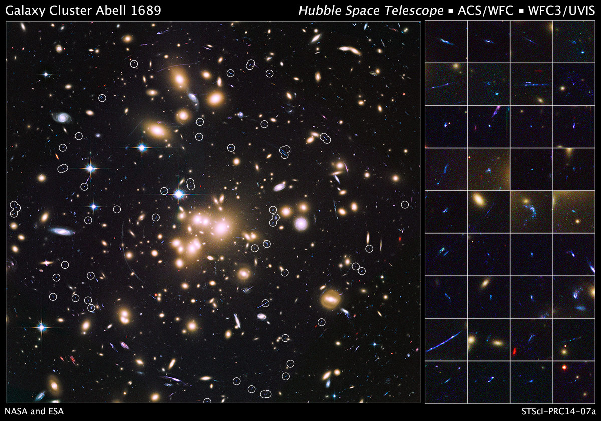 Hubble Provides A New Perspective On The Remote Universe