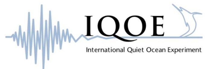 International Quiet Ocean Experiment logo
