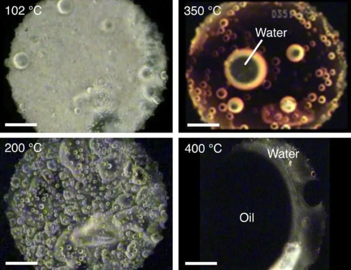 Interstellar Organic Matter Analog