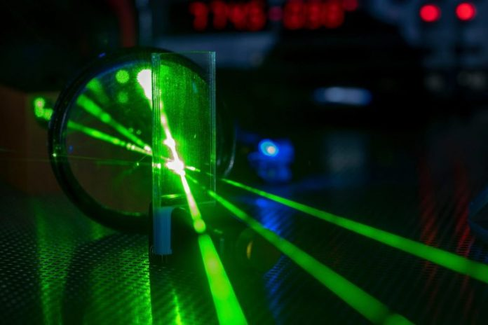 Laser Experiment Laboratory