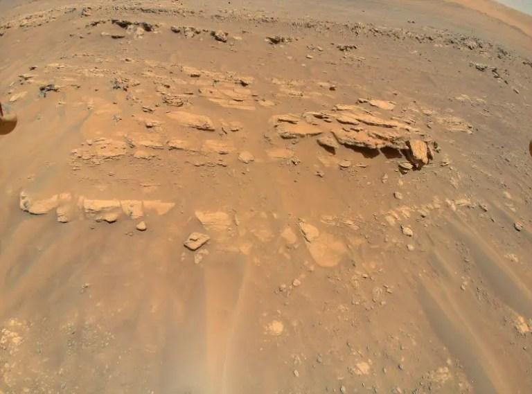 Mars Rock Mound Faillefeu