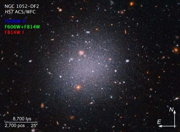 NGC1052-DF2 Compass Image