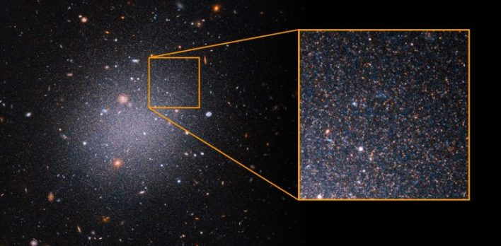 NGC1052-DF2, Kırmızı Dev Yıldızları Çekiyor