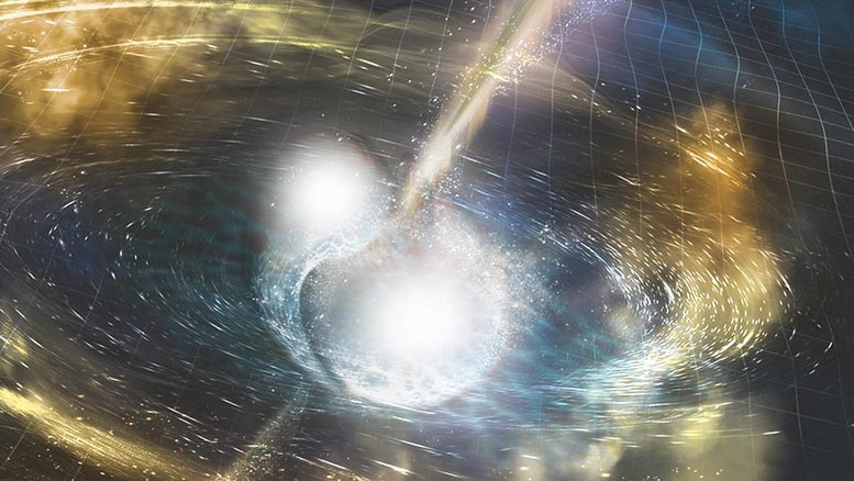 Neutron Star Merger Rendering